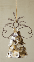Oyster Shell Angels - Set of 6