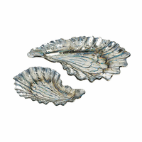 Oyster Trinket Dishes - Set of 2