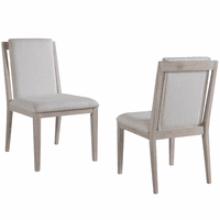Pablo Floating Back Dining Chairs - Set of 2