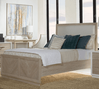 Pablo King Panel Upholstered Bed