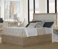 Pablo King Panel Upholstered Platform Bed