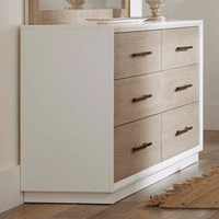 Pablo Six Drawer Double Dresser