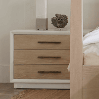 Pablo Three Drawer Nightstand