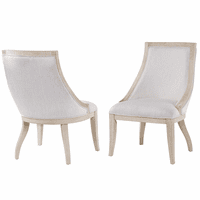 Pablo Upholstered Sling Chairs - Set of 2