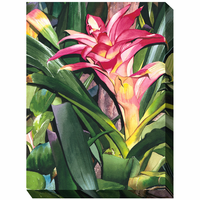 Pacific Bloom Outdoor Canvas Art