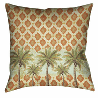 Pacific Palms 18 x 18 Indoor Pillow