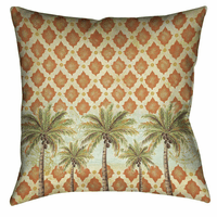 Pacific Palms 20 x 20 Outdoor Pillow