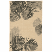 Pacific Palms Gray Indoor/Outdoor Rug Collection