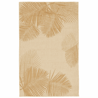 Pacific Palms Sand Indoor/Outdoor Rug Collection