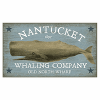 Pacific Whale Personalized Sign
