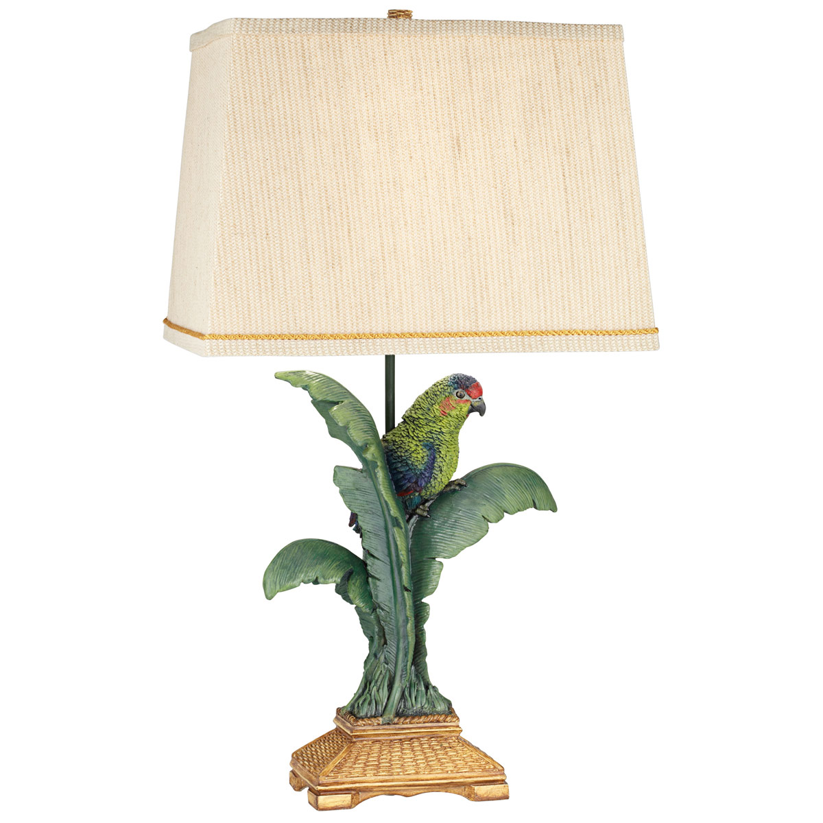 Beach Table Lamps Tropical Parrot Table Lamp Bella