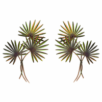 Palm Fans Wall Art - Set of 2