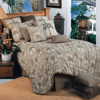 Palm Grove Comforter Set - King - OUT OF STOCK
