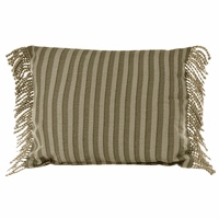 Palm Grove Oblong Stripe Pillow - OUT OF STOCK