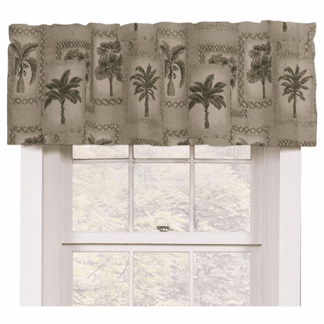 Palm Grove Valance - OUT OF STOCK