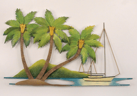Palm Island Wall Art