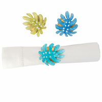 Palm Isle Napkin Rings - Set of 6