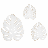 Palm Leaves Wall Décor - Set of 3
