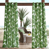 Palm Paradise 3M Scotchgard Outdoor Panel - 95 Inch