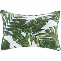 Palm Paradise 3M Scotchgard Outdoor Pillow - Rectangle