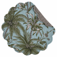 Palm Paradise Round Placemats - Set of 6