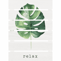 Palm Relaxation Wall Art