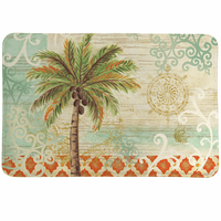 Palm Tile Memory Foam Mat - CLEARANCE