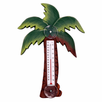 Palm Tree Large Window Thermometer