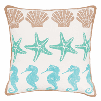 Parade of the Sea Pillow