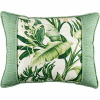 Paradise Coast Banded Breakfast Pillow
