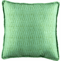 Paradise Coast Square Green Pillow