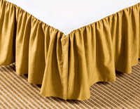 Paradise in Bloom 15 Inch Drop Bedskirt - Cal King