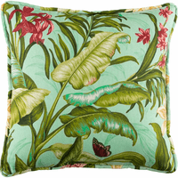 Paradise in Bloom Square Pillow