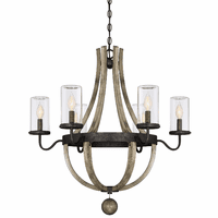 Paradise Outdoor 6-Light Outdoor Chandelier