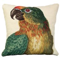 Parrot Profile Pillow - Left