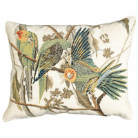 Parrots Rectangular Pillow