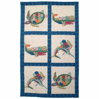 Patchwork Ocean Rug Collection