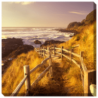Pathway to Beach Indoor/Outdoor Canvas Art