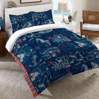 Patriotic Sea Duvet Cover - King