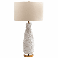 Pearl Leaves Table Lamp - OVERSTOCK