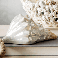 Pearlized Seashell Figurine/Planter - CLEARANCE