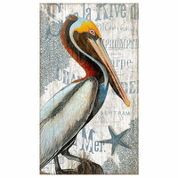 Pelican Beach Wall Art