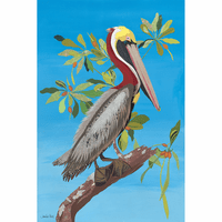 Pelican Island Indoor/Outdoor Metal Wall Art