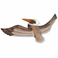 Pelican Wings Wood Wall Art