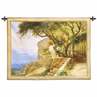 Pergola in Amalfi Wall Tapestry