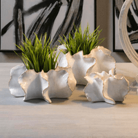 Petal Wall/Table Vases - Set of 3