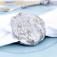 Pewter Clam Shell Napkin Ring