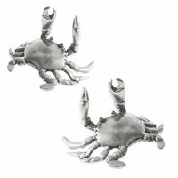 Pewter Crab Place Card Holder