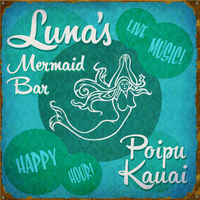 PG Mermaid Bar Personalized Signs