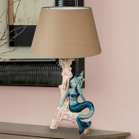 Sea Siren Mermaid Table Lamp